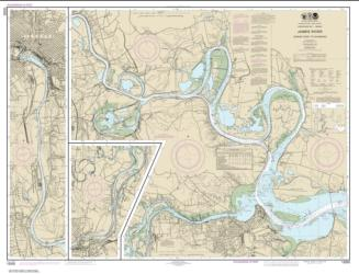 Buy map James River Jordan Point to Richmond Nautical Chart (12252) by NOAA from Virginia Maps Store