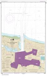 Buy map Little Creek Naval Amphibious Base Nautical Chart (12255) by NOAA from Virginia Maps Store