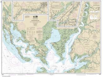 Buy map Chesapeake Bay Honga, Nanticoke, Wicomico Rivers and Fishing Bay Nautical Chart (12261) by NOAA from Virginia Maps Store