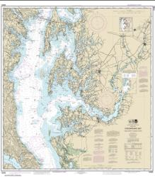 Buy map Chesapeake Bay Cove Point to Sandy Point Nautical Chart (12263) by NOAA from Virginia Maps Store