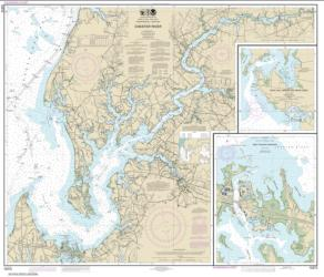 Buy map Chester River; Kent Island Narrows, Rock Hall Harbor and Swan Creek Nautical Chart (12272) by NOAA from Maryland Maps Store