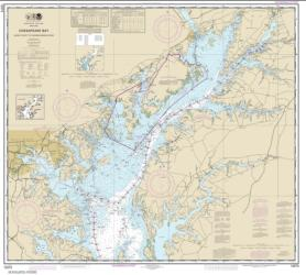 Buy map Chesapeake Bay Sandy Point to Susquehanna River Nautical Chart (12273) by NOAA from Virginia Maps Store
