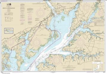 Buy map Head of Chesapeake Bay Nautical Chart (12274) by NOAA from Virginia Maps Store