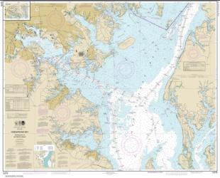 Buy map Chesapeake Bay Approaches to Baltimore Harbor Nautical Chart (12278) by NOAA from Maryland Maps Store