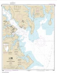 Buy map Annapolis Harbor Nautical Chart (12283) by NOAA from Maryland Maps Store