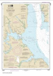 Buy map Potomac River Dahlgren and Vicinity Nautical Chart (12287) by NOAA from Maryland Maps Store