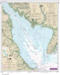 Buy map Delaware Bay Nautical Chart (12304) by NOAA from Delaware Maps Store