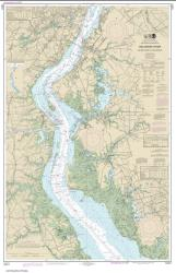 Buy map Delaware River Smyrna River to Wilmington Nautical Chart (12311) by NOAA from Delaware Maps Store