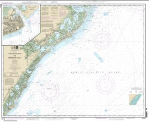 Buy map Little Egg Inlet to Hereford Inlet; Absecon Inlet Nautical Chart (12318) by NOAA from New Jersey Maps Store