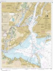 Buy map New York Harbor Nautical Chart (12327) by NOAA from New York Maps Store