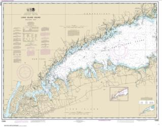 Buy map Long Island Sound Western Part Nautical Chart (12363) by NOAA from New York Maps Store
