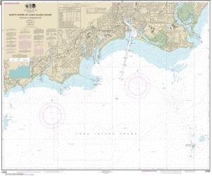 Buy map North Shore of Long Island Sound Stratford to Sherwood Point Nautical Chart (12369) by NOAA from New York Maps Store