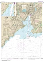 Buy map New Haven Harbor; New Haven Harbor (Inset) Nautical Chart (12371) by NOAA from Connecticut Maps Store