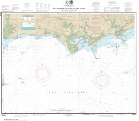 Buy map North Shore of Long Island Sound Duck Island to Madison Reef Nautical Chart (12374) by NOAA from New York Maps Store