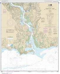 Buy map Connecticut River Long lsland Sound to Deep River Nautical Chart (12375) by NOAA from Connecticut Maps Store