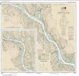 Buy map Connecticut River Deep River to Bodkin Rock Nautical Chart (12377) by NOAA from Connecticut Maps Store