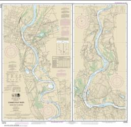 Buy map Connecticut River Bodkin Rock to Hartford Nautical Chart (12378) by NOAA from Connecticut Maps Store