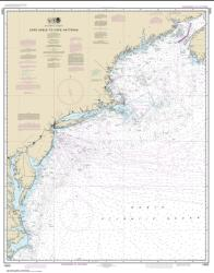 Buy map Cape Sable to Cape Hatteras Nautical Chart (13003) by NOAA from North Carolina Maps Store