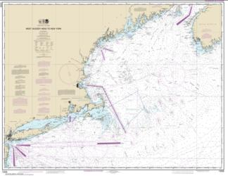 Buy map West Quoddy Head to New York Nautical Chart (13006) by NOAA from Maine Maps Store