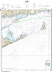 Buy map Block Island Sound and Approaches Nautical Chart (13205) by NOAA from Rhode Island Maps Store