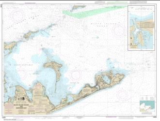 Buy map Block Island Sound and Gardiners Bay; Montauk Harbor Nautical Chart (13209) by NOAA from Rhode Island Maps Store
