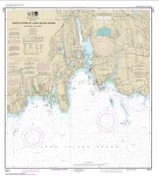 Buy map North Shore of Long Island Sound Niantic Bay and Vicinity Nautical Chart (13211) by NOAA from New York Maps Store