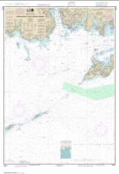 Buy map Approaches to New London Harbor Nautical Chart (13212) by NOAA from Connecticut Maps Store