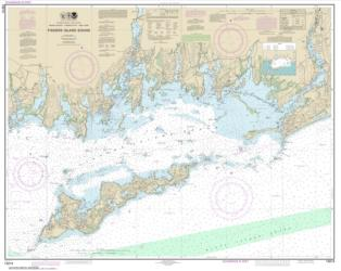 Buy map Fishers Island Sound Nautical Chart (13214) by NOAA from Rhode Island Maps Store