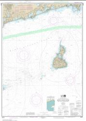 Buy map Block Island Sound Point Judith to Montauk Point Nautical Chart (13215) by NOAA from Rhode Island Maps Store