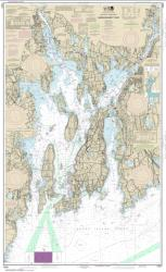 Buy map Narragansett Bay Nautical Chart (13221) by NOAA from Rhode Island Maps Store