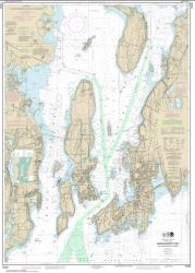 Buy map Narragansett Bay, Including Newport Harbor Nautical Chart (13223) by NOAA from Rhode Island Maps Store