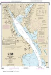 Buy map Providence Harbor Nautical Chart (13225) by NOAA from Rhode Island Maps Store