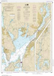 Buy map Mount Hope Bay Nautical Chart (13226) by NOAA from Rhode Island Maps Store