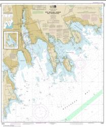 Buy map New Bedford Harbor and Approaches Nautical Chart (13232) by NOAA from Connecticut Maps Store