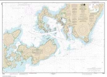 Buy map Woods Hole Nautical Chart (13235) by NOAA from United States Maps Store