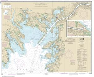 Buy map Cape Cod Canal and Approaches Nautical Chart (13236) by NOAA from United States Maps Store