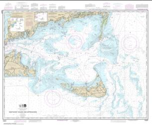 Buy map Nantucket Sound and Approaches Nautical Chart (13237) by NOAA from United States Maps Store