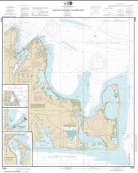 Buy map Marthas Vineyard Eastern Part; Oak Bluffs Harbor; Vineyard Haven Harbor; Edgartown Harbor Nautical Chart (13238) by NOAA from United States Maps Store