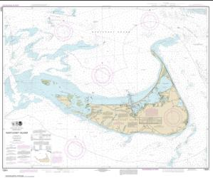 Buy map Nantucket Island Nautical Chart (13241) by NOAA from United States Maps Store