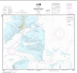 Buy map Eastern Entrance to Nantucket Sound Nautical Chart (13244) by NOAA from United States Maps Store