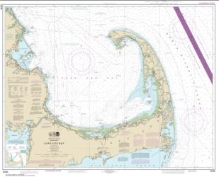 Buy map Cape Cod Bay Nautical Chart (13246) by NOAA from United States Maps Store
