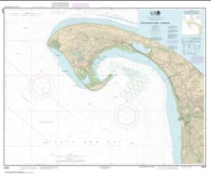 Buy map Provincetown Harbor Nautical Chart (13249) by NOAA from United States Maps Store
