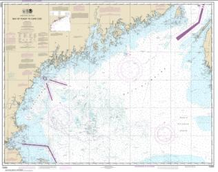 Buy map Bay of Fundy to Cape Cod Nautical Chart (13260) by NOAA from United States Maps Store