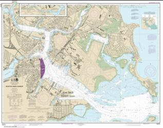 Buy map Boston Inner Harbor Nautical Chart (13272) by NOAA from United States Maps Store