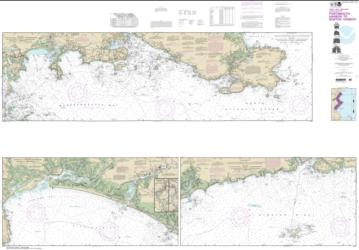 Buy map Portsmouth Harbor to Boston Harbor; Merrimack River Extension Nautical Chart (13274) by NOAA from United States Maps Store