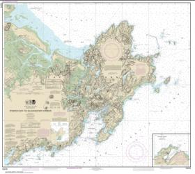 Buy map Ipswich Bay to Gloucester Harbor; Rockport Harbor Nautical Chart (13279) by NOAA from United States Maps Store