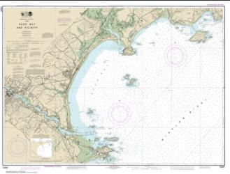 Buy map Saco Bay and Vicinity Nautical Chart (13287) by NOAA from Maine Maps Store