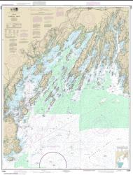 Buy map Casco Bay Nautical Chart (13290) by NOAA from Maine Maps Store