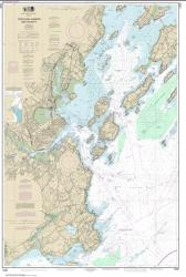 Buy map Portland Harbor and Vicinity Nautical Chart (13292) by NOAA from Maine Maps Store
