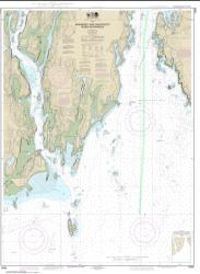 Buy map Kennebec and Sheepscot River Entrances Nautical Chart (13295) by NOAA from Maine Maps Store